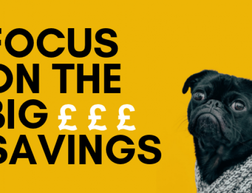 Focussing On The Big Savings